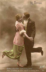 histoire de tango une carte postale