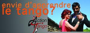 envie d'apprendre le tango argentin bienvenue sur ActionTango nous donnons des cours régulier sur la régions parisienne