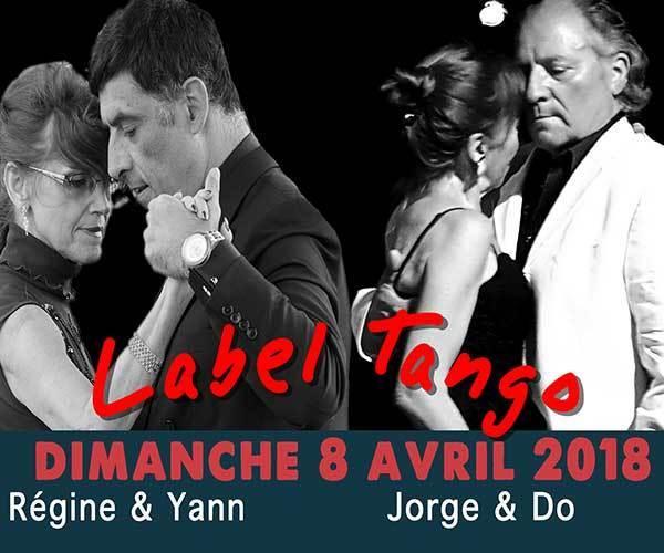 stage tango argentin & milonga de Clichy dimanche 8 avril