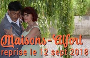 cours de tango argentin tous les mardis à Maisons Alforts