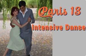 nous donnons des cours tous les jeudi apres midi chez Intensive Danse paris 13