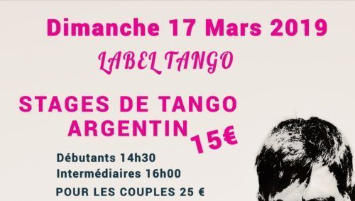 stages de tango avec label tango