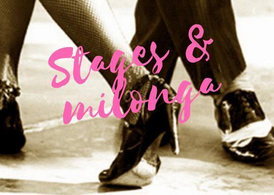 dimanche 14 avril 2019 stages de tango argentin à Clichy