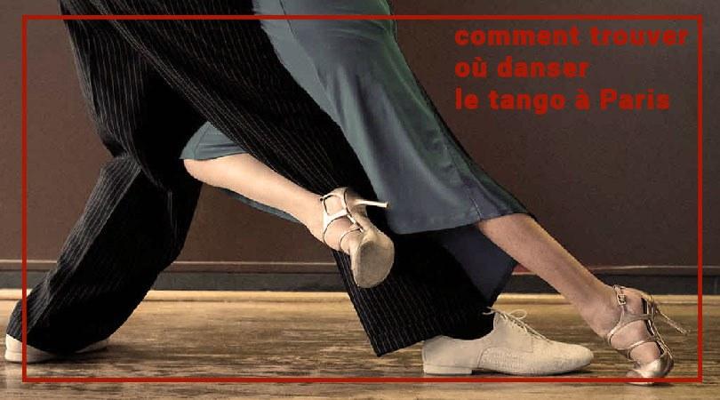 comment trouver où danser le tango à Paris